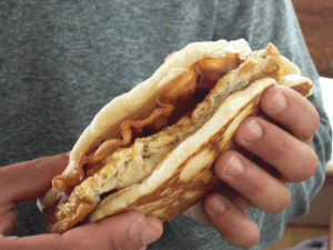 Pancake Breakfast Taco